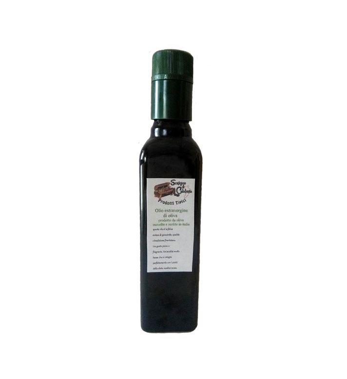olio extravergine di olive della locride bottiglia da 50 cl.